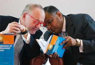 Book launch at 9th Indo-German NASSCOM/BITKOM Conference in Cologne, June 2012