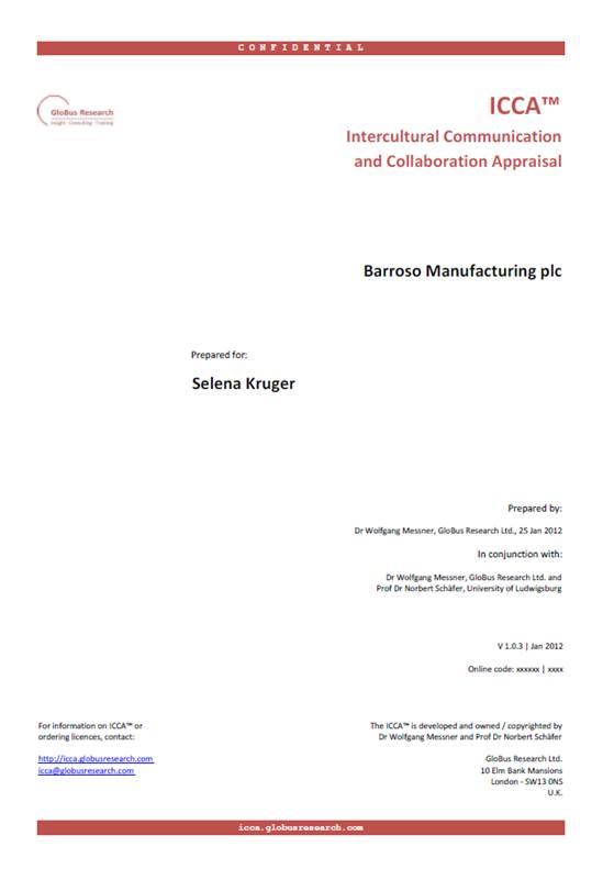 ICCA™ Report